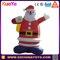 20ft outdoor xmas inflatable christmas rooftop santa father