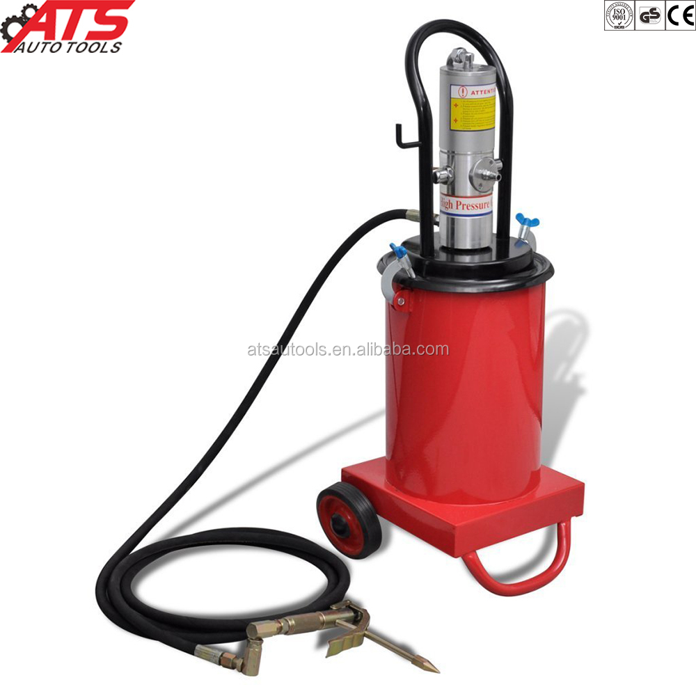 3Gal Air Grease Injector Pneumatic Compressed Pump High Pressure