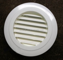 Round air grille for ventilation system