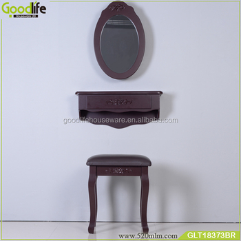 High quality space saving wall mounted dressing table designs