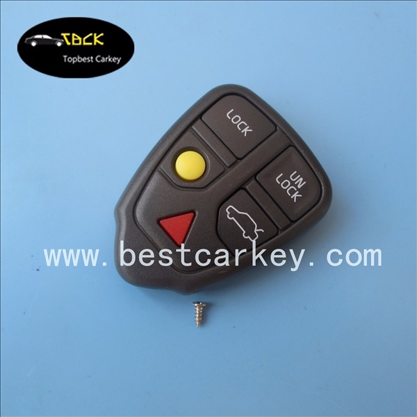 Topbest good price 4+1 button car key blanks key shell for remote control key