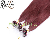 2016 Micro ring Hair Extension grade aaa Remy Hair Human Hair Wholesale