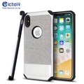 Best Price Fabric Leather Cover for iPhone X Case