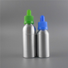 screen printing surface e liquid e juice use 30ml aluminum bottle with child resistant eye dropper aluminium vials 30ml vials