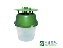 bucket trap with insect pheromone lures