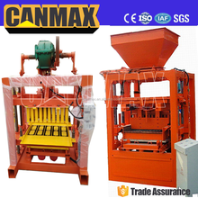 QT4-40B small scale split face block machine