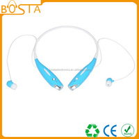 Top quality 2015 promotion trendy new sports fashion blue tooth headset