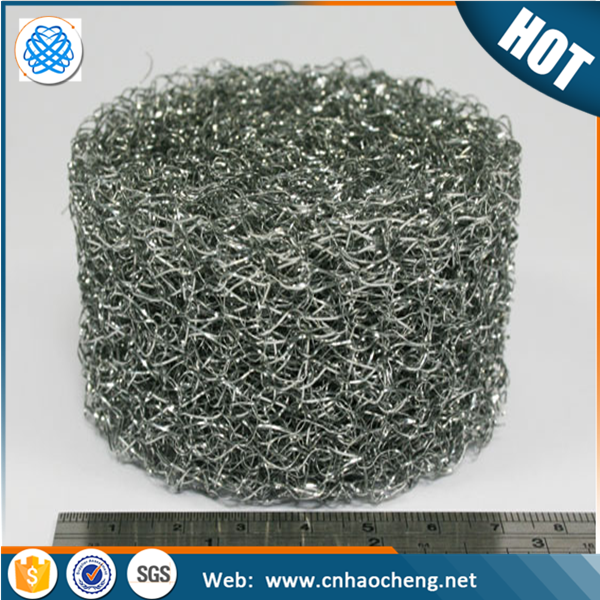 Compressed knitted mesh/Metal knit gasket for EMI/RFI/Pressed knitted wire mesh filter