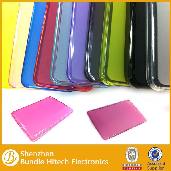 china supplier for ipad mini case high quality , colorful TPU For ipad mini tpu case , For ipad mini back cover case