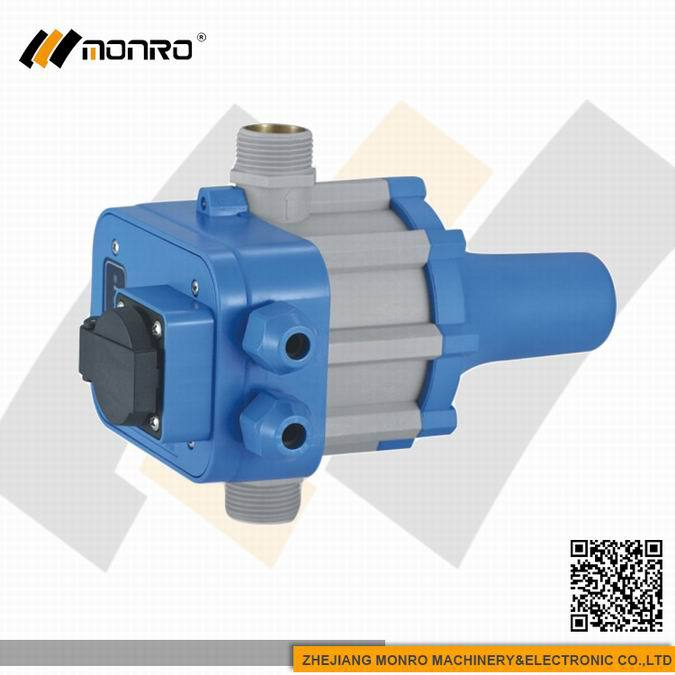 2015 Zhejiang Monro all black with socket box pressure control switch for water pump(EPC-1.1)