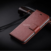 2016 new product phone cover leather flip case for Lenovo A1000