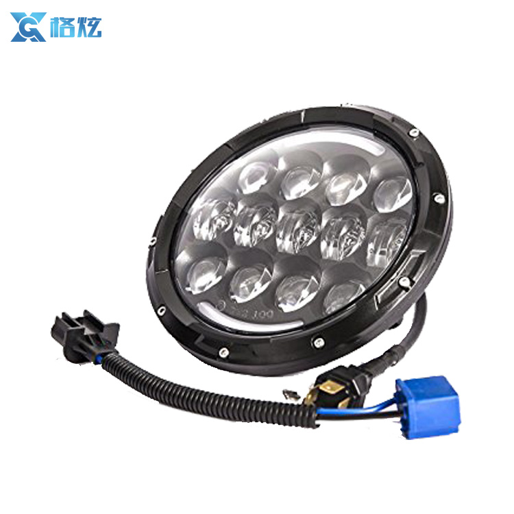 7 Inch Led Driving Light H4 H13 LED Car Headlight Kit for Jeep Led Head Lamp Bulbs Dipped & High Beam