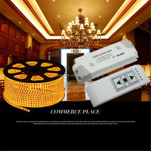 Hot Selling Products 220V LED Dimmer Controller AC90-240V 1A High Voltage Wireless RF LED PWM Dimmer for 220V Led Strip Light