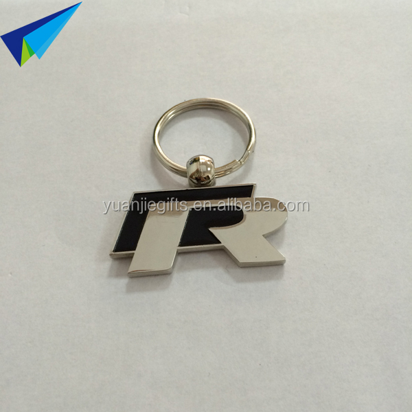 2016 promotional high quality metal keychain with company logo