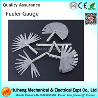 Factory direct sales thickness feeler gages gap measuring tool & gage tool