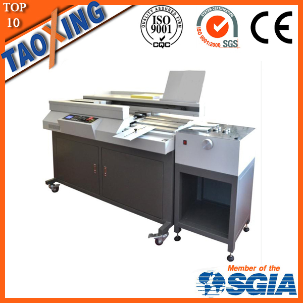 factory export with lower price 60R+C68 glue binding machine with C68 creaser for book