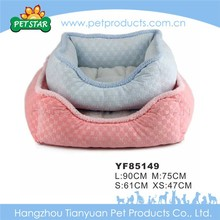 Factory supply attractive price purple pet bed for dog