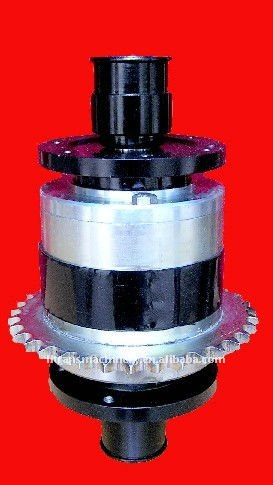 1100cc chain drive limited slip differential