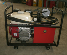 JYB-80Q High pressure hydraulic fuel pump station with HONDA engine