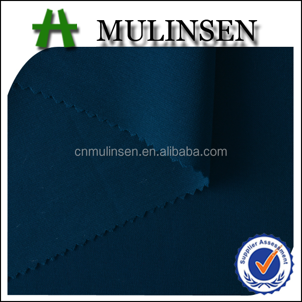 Mulinsen Textile Stocks Wholesale Woven Polyester Dyed Wool Peach Abaya Fabric Online