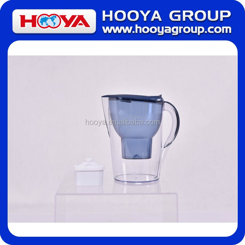 3.5L small water pitcher filter with 1 filter