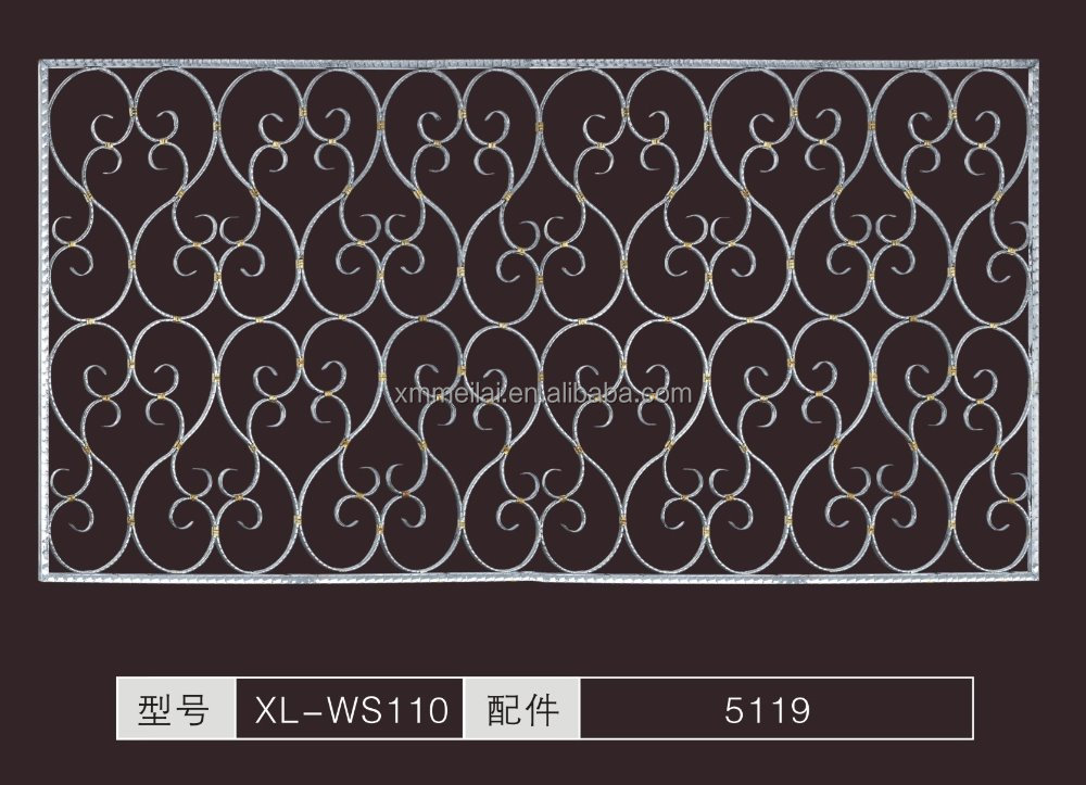 Stainless Steel Outdoor Railing / Balcony / Window Guard Rail Panel