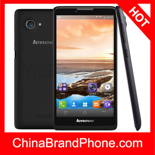 Original Lenovo A889 8GB Black, 6.0 inch 3G Android 4.2.2 Smart Phone