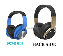 2017 Metal Wireless Bluetooth Headset Noise Cancelling Wireless Headphone