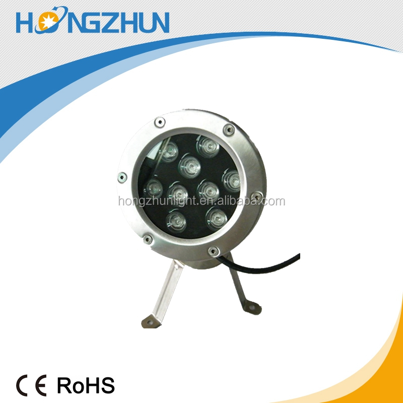 316 Stainless steel fountain underwater light pool lights Low voltage led underweater lighting