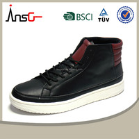 insgear shoes factory accept OEM men casual leather shoes free sample