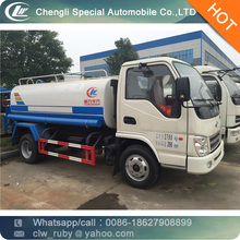 1000 gallon 5000 liters 5cbm 5m3 5tons Water Tank Truck Water Sprinkling Truck Water Truck