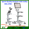 2017 Vet equipments MSL-3703i vet trolley Sperm analyzer machine/vet Sperm count test analyzer
