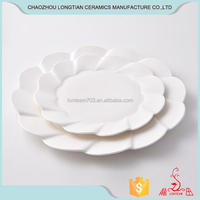 Attractive design crockery ceramic plate and dish made in China