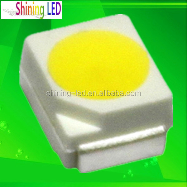 CCT 6000K-6500K 7-8lm 20mA Epistar Chip 0.06W SMD 3528 LED Bead For Strips