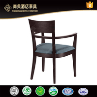 Wood Dining Arm Chair For Hotel