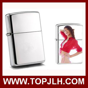 wholesale sublimation metal flip lighter