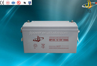 JL power 12V 150AH AGM SMF VRLA Storage Deep Cycle Solar Battery 12V 150AH solar battery