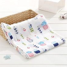 Wholesale GOTS Certified 100% Organic Cotton Baby Swaddle Blanket