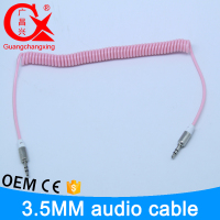 Chinese product directly price retractable jack audio cables