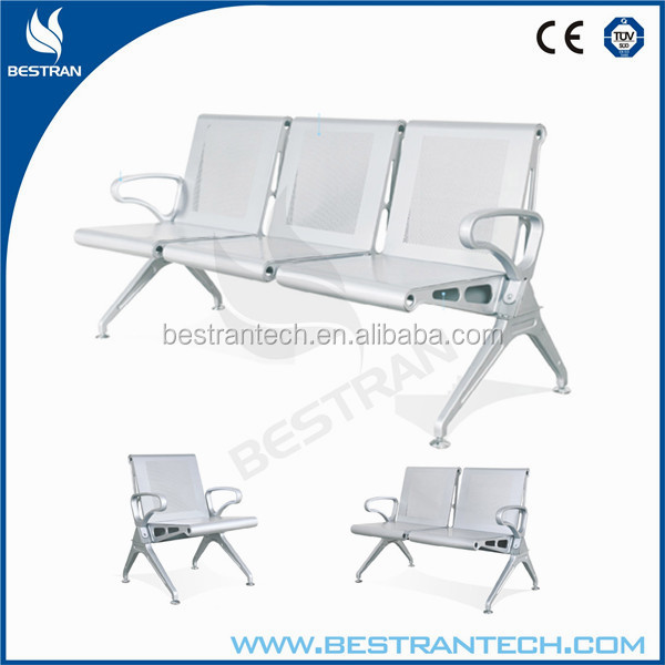BT-ZC005 Waiting Area / Room stainless steel hospital waiting chair