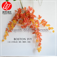 343-020-810 china supplier 2016 new designer home decor artificial fall leaves ivy