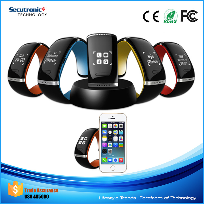 2016 Multifunction Bluetooth Smartwatch L12S Bracelet Bangle for Sony Smart Watch 2