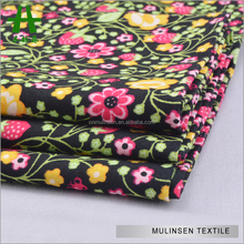 Mulinsen Textile Custom Hawaii Design Placement Printed 40s High Density Poplin Fabric
