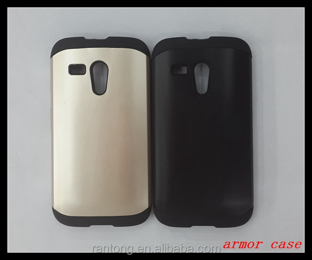 TPU+PC armor case for moto g