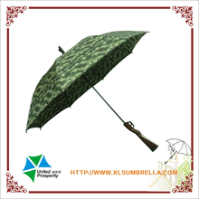 new invention straight umbrella with gun handle