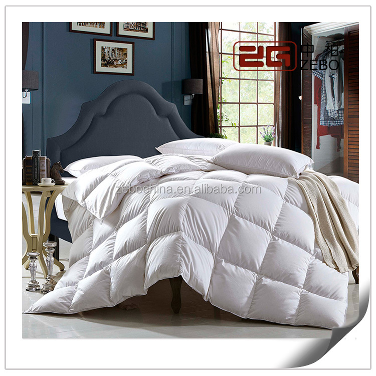 5 Star Hotel Used Soft and Warmer Wholesale Luxury Goose Down Quilt