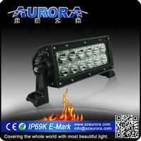 Auto lighting system Aurora 20'' 200w dual row led off road bar 5050 strip light