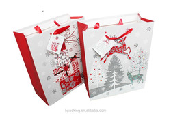 Wholesale 3D Printed Paper Bag For Christmas In Stock