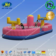 inflatable games fantastic bungee run basketball