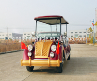 promotion hot model new touring open type 8 seaters electric classic car electric sightseeing tour buses